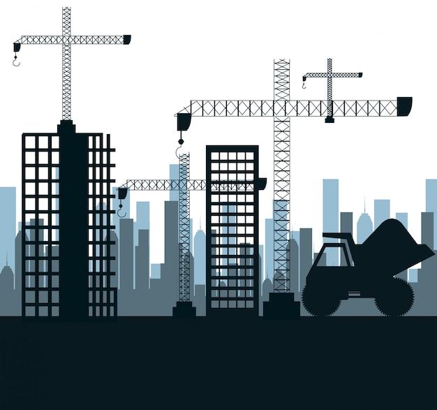 Construction machinery design