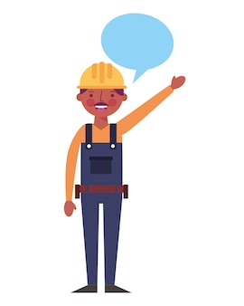 Construction man worker
