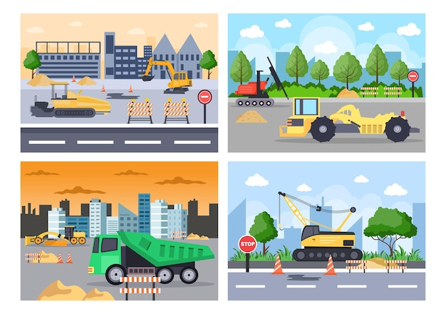 Construction of real estate vector