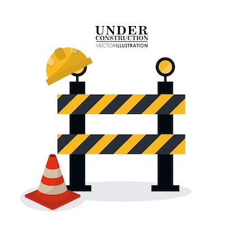 Under construction and repair