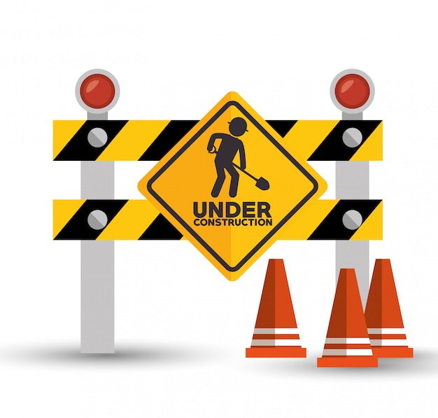 Under construction set icons