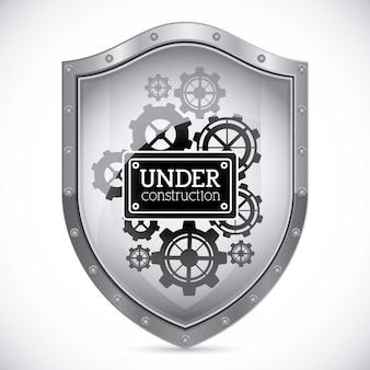 Under construction shield