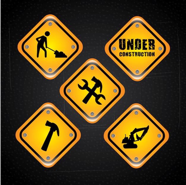 Construction signals