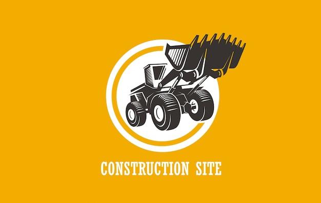 Construction site logo.