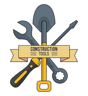 건설 도구 배경