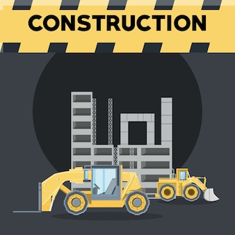 Construction trucks design