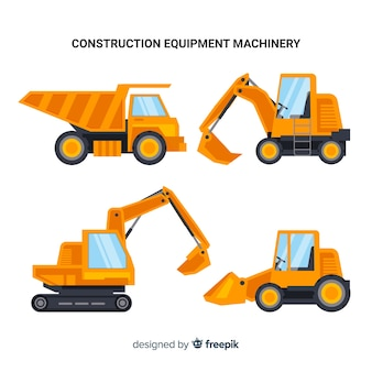 Construction vehicles collection