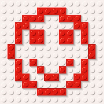 Constructor smile red