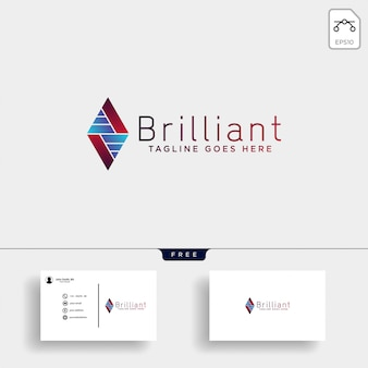 Consult stats logo template illustration