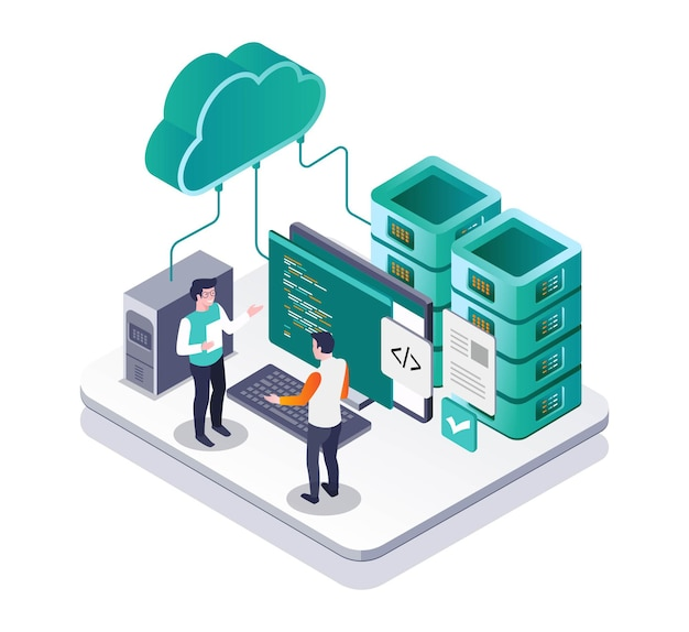 웹 서버용 컨설팅 프로그램 언어