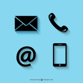 Contact vectors photos and psd files free download contact icon pack reheart Images