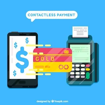 Бесконтактный платеж backgorund
