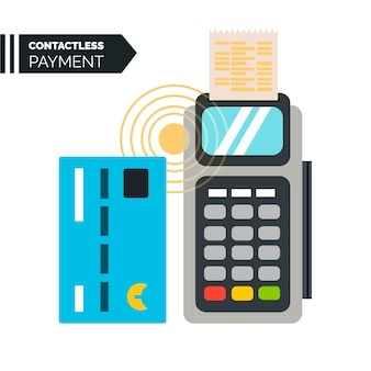 Contactless payment background