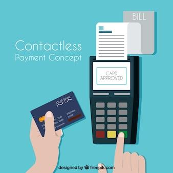 Бесконтактный платеж с помощью кредитной карты