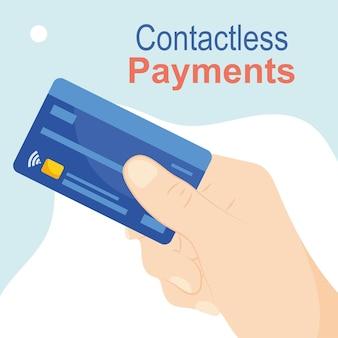 Иллюстрация бесконтактных платежей