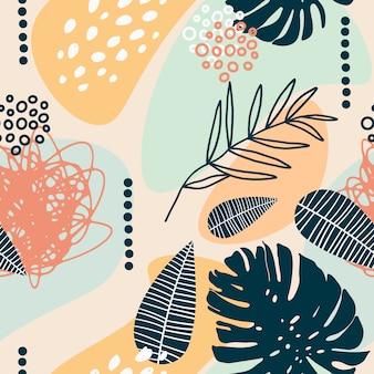 Contemporary seamless pattern
