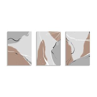 Современный декор стен коллекция креативных художественных постеров арт-дизайн