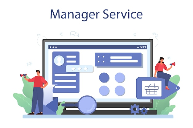 Онлайн-сервис или платформа для управления контентом.