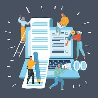 Content management for web project
