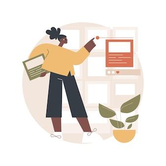 Content plan illustration
