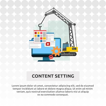 Content setting