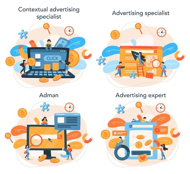 Набор концепций контекстной рекламы и таргетинга