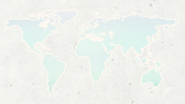 Континенты мира фон вектор