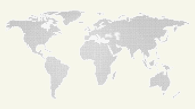 Continents of the world background