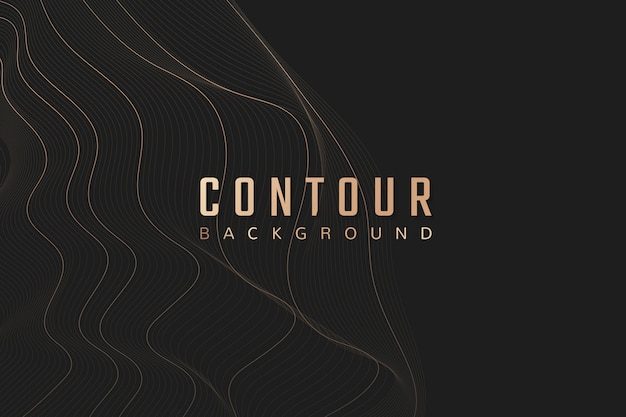 Contour background