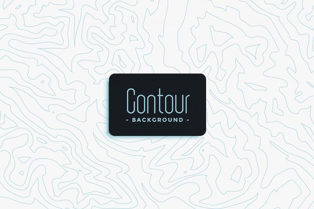 Contour topographic background