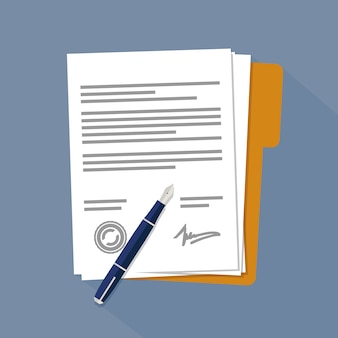 Contract papers or documents