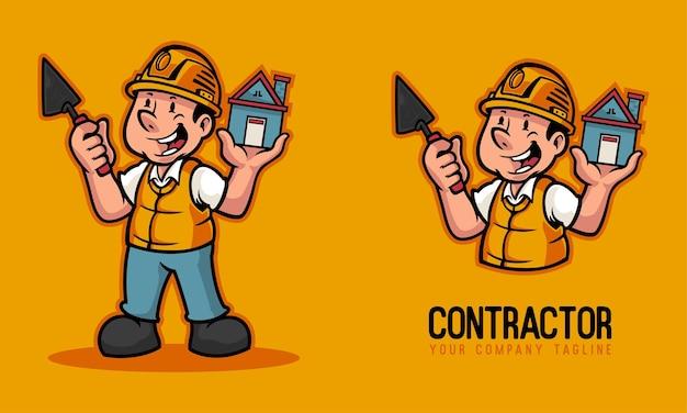 Логотип талисмана подрядчика