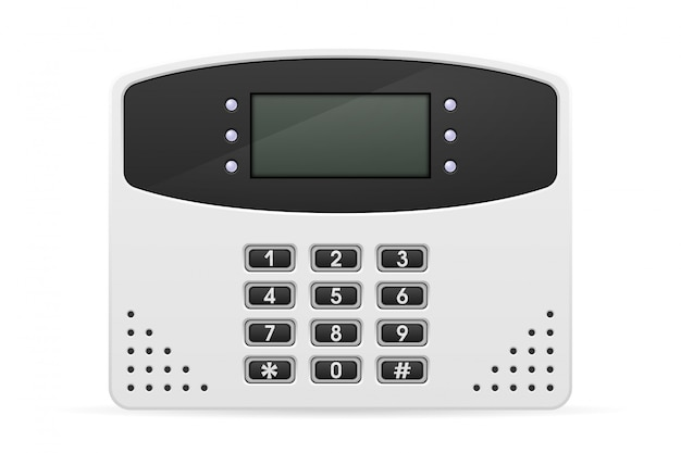 Control block home security system