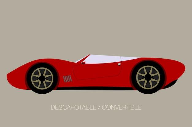 Convertible supercar