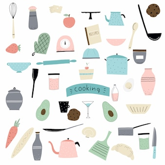 Coocking elements