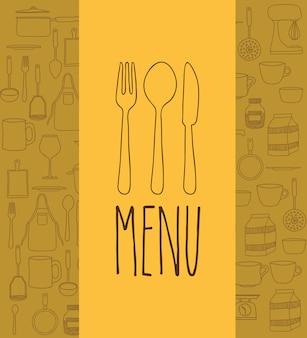 Дизайн кулинарной книги Premium векторы