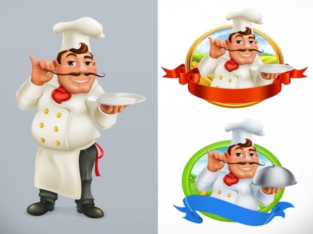 Шеф повар. персонаж и метка.