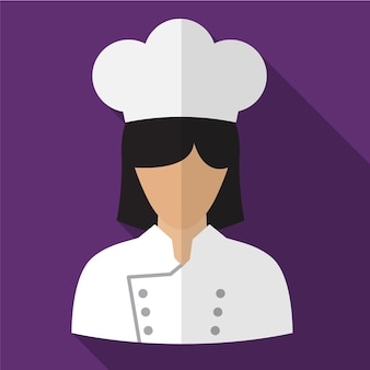 Cook flat icon illustration isolated vector sign symbol