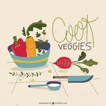 Кука овощи