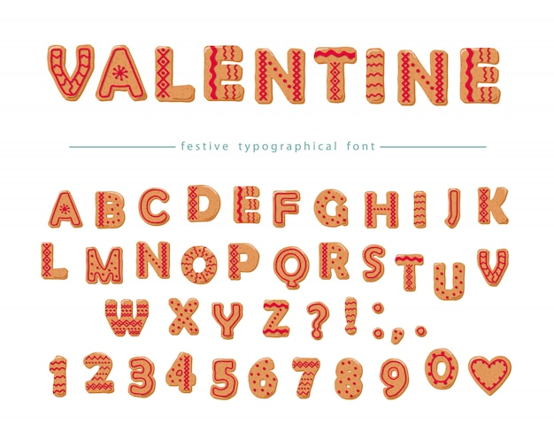 Cookie hand drawn decorative font