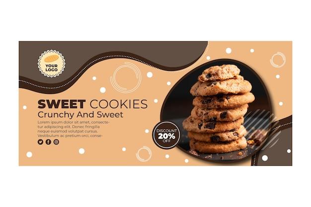 Cookies banner template