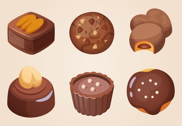 쿠키 초콜릿 과자 감사