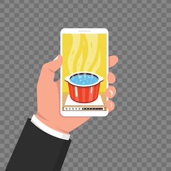 Готовим приложение на экране смартфона