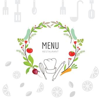 Приготовление пищи дизайн фона
