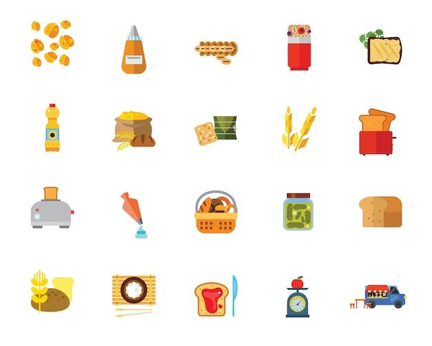 Набор иконок для кулинарии