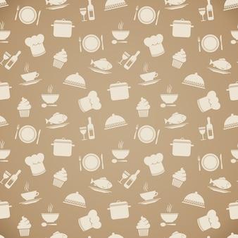 요리 패턴 디자인
