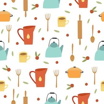 Modello di utensili da cucina