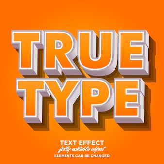 Cool 3d bold font effect