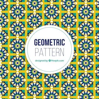 Sfondo di modello astratto e geometrico fresco