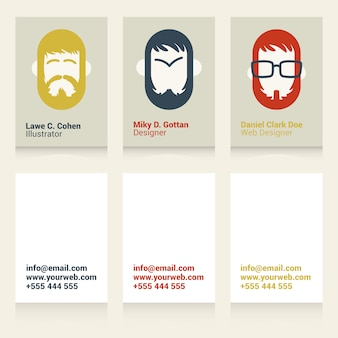 Cool business cards for designers and illustrators